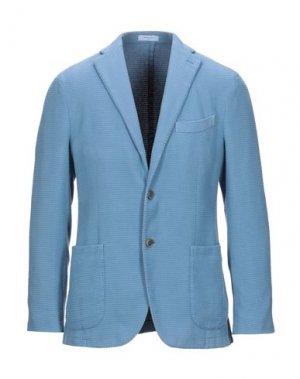 Пиджак BOGLIOLI. Цвет: небесно-голубой