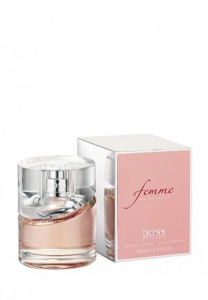 Парфюмерная вода Hugo Boss Femme 50 мл. Цвет: белый