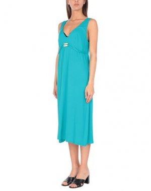 Пляжное платье ESSERE. Цвет: лазурный