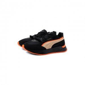 Кроссовки x Pronounce Mirage Sport Puma. Цвет: чёрный