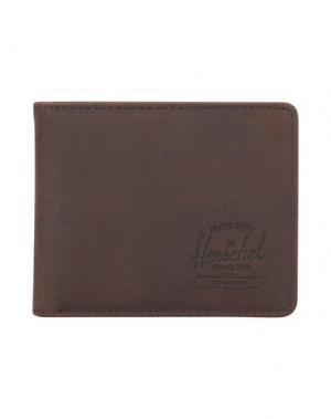 Бумажник HERSCHEL SUPPLY CO.. Цвет: какао