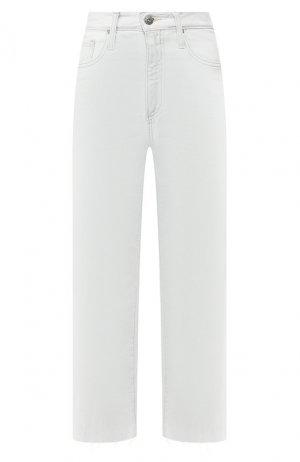 Укороченные джинсы Ag. Цвет: белый