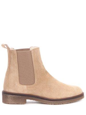Замшевые ботинки-челси PERTINI