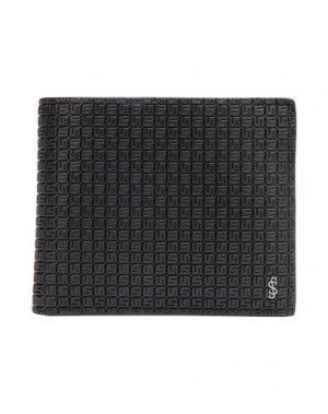 Бумажник SERAPIAN. Цвет: черный