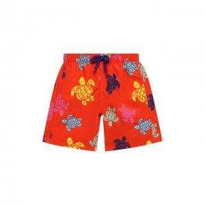 Плавки-шорты Vilebrequin. Цвет: красный