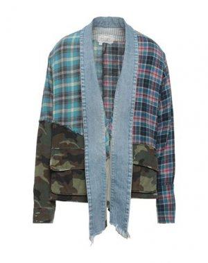 Пиджак GREG LAUREN. Цвет: бирюзовый
