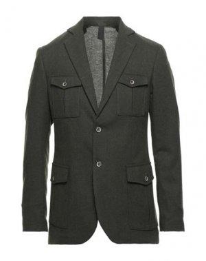 Пиджак BESILENT. Цвет: зеленый-милитари