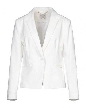 Пиджак FRACOMINA. Цвет: белый