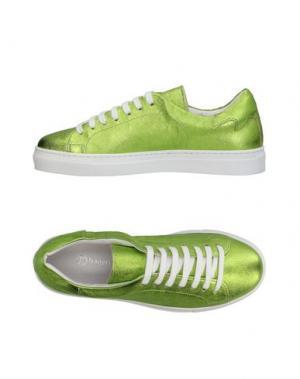 Низкие кеды и кроссовки BAGATT. Цвет: зеленый