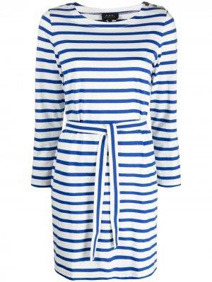 Платье-футболка Florence A.P.C.. Цвет: белый