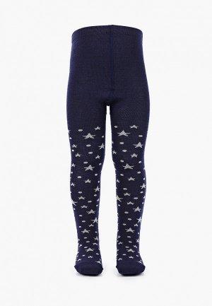 Колготки Wool&Cotton. Цвет: синий