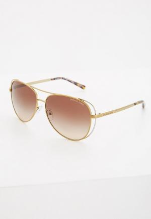 Очки солнцезащитные Michael Kors MK1024 119113. Цвет: золотой
