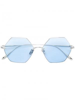 Солнцезащитные очки California Signal Frency & Mercury. Цвет: золотистый
