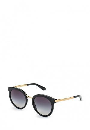 Очки солнцезащитные Dolce&Gabbana DG4268 501/8G. Цвет: черный