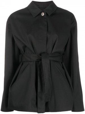 Куртка Seine с поясом Filippa K. Цвет: черный
