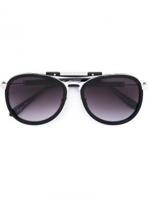 Солнцезащитные очки Rastro Del Viaje Frency & Mercury. Цвет: черный