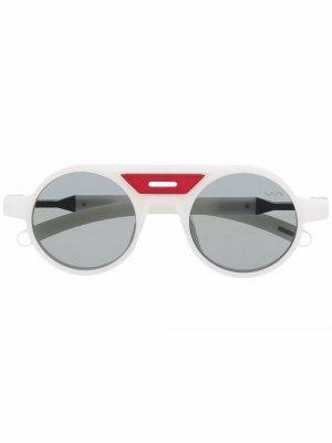Солнцезащитные очки Mamona Athlete VAVA Eyewear. Цвет: белый