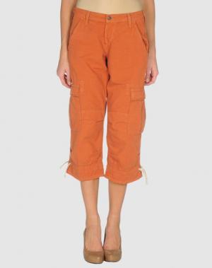 Брюки-капри JOIE. Цвет: оранжевый