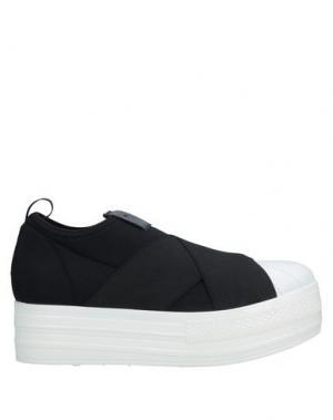Низкие кеды и кроссовки FESSURA. Цвет: черный