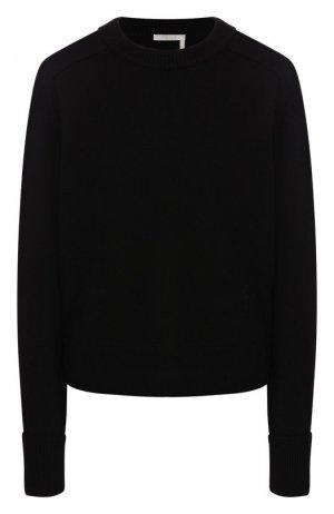 Кашемировый пуловер Chloé. Цвет: черный