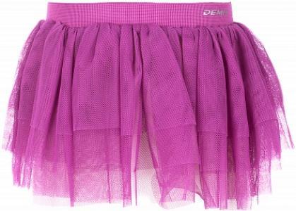 Юбка для девочек , размер 134 Demix. Цвет: розовый