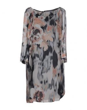 Платье до колена CARAMELO. Цвет: серый