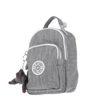 Рюкзаки и сумки на пояс KIPLING. Цвет: светло-серый