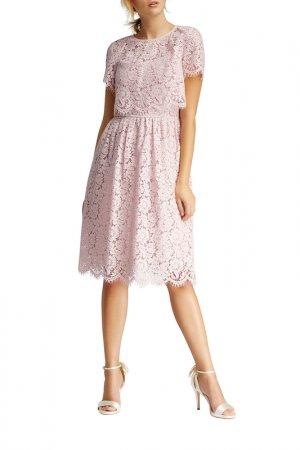 Платье Apart. Цвет: розовый, лиловый