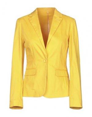 Пиджак G.SEL. Цвет: желтый