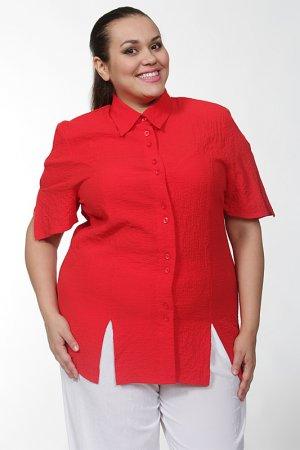 Блуза CHALOU. Цвет: красный