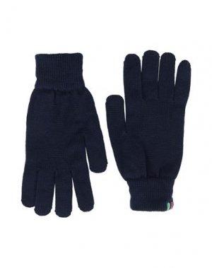 Перчатки PS PAUL SMITH. Цвет: темно-синий
