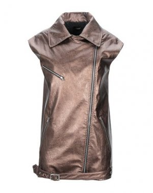 Куртка PLEASE. Цвет: бронзовый