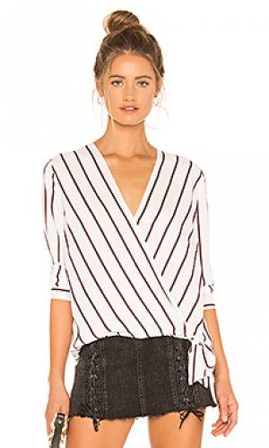Топ friday night stripes BB Dakota. Цвет: белый