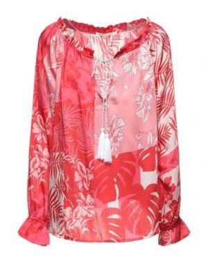 Блузка GAUDÌ. Цвет: красный