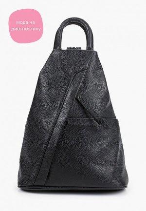 Рюкзак Carla Ferreri. Цвет: черный