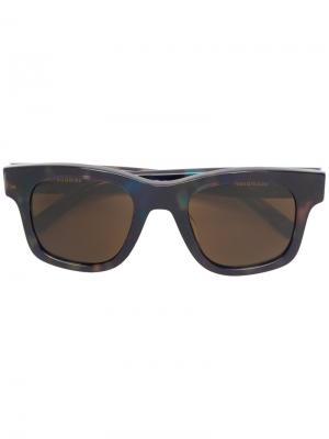 Солнцезащитные очки с квадратной оправой Sun Buddies. Цвет: none