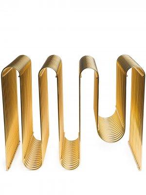 Curva Magazine Holder, Gold AYTM. Цвет: золотистый