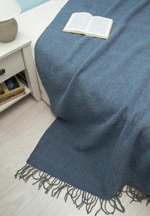 Плед Arloni 200x140. Цвет: синий