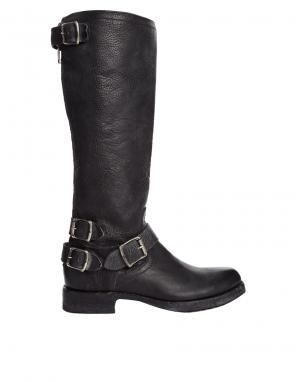 Высокие сапоги Veronica Frye. Цвет: черный