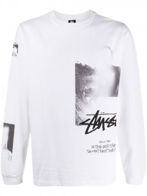 Футболка из коллаборации с Matthew M. Williams Stussy. Цвет: белый