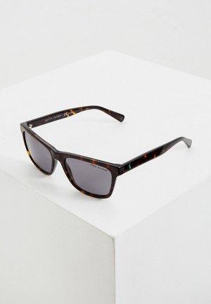 Очки солнцезащитные Polo Ralph Lauren PH4167 500381. Цвет: коричневый