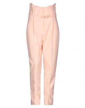 Повседневные брюки ALLURE. Цвет: абрикосовый