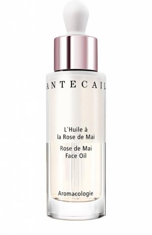 Розовое масло для лица Rose de Mai Face Oil Chantecaille. Цвет: бесцветный