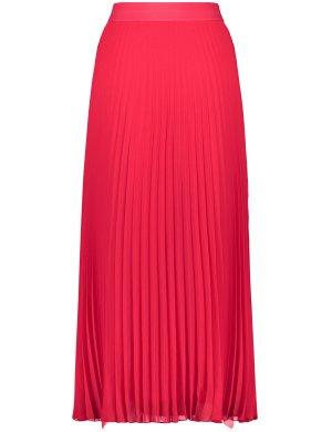 Плиссированная юбка-миди TAIFUN Gerry Weber. Цвет: watermelon