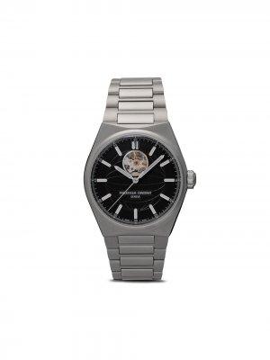 Наручные часы Highlife Heart Beat 41 мм Frédérique Constant. Цвет: черный