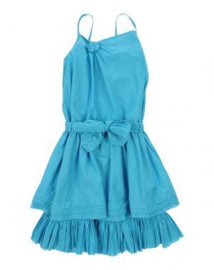 Платье ELIANE ET LENA. Цвет: бирюзовый