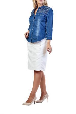 Рубашка LAFEI-NIER. Цвет: мультицвет