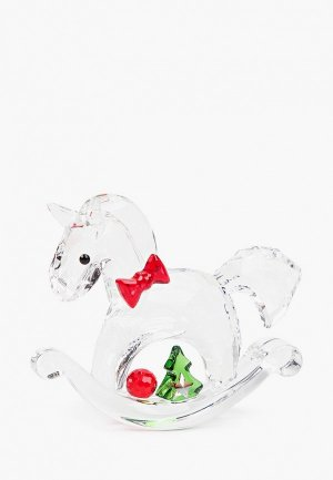 Фигурка декоративная Swarovski®. Цвет: серебряный