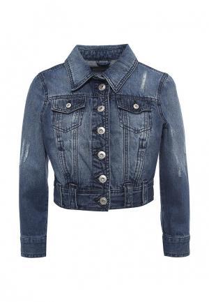 Куртка джинсовая Urban Bliss. Цвет: синий