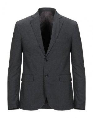 Пиджак HERITAGE. Цвет: свинцово-серый